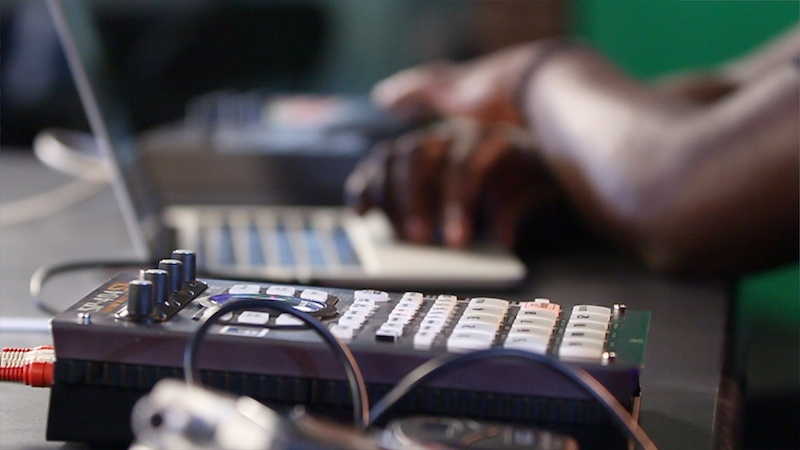 Making Beats on The Street With Found Sounds Ep 1 Latham Square