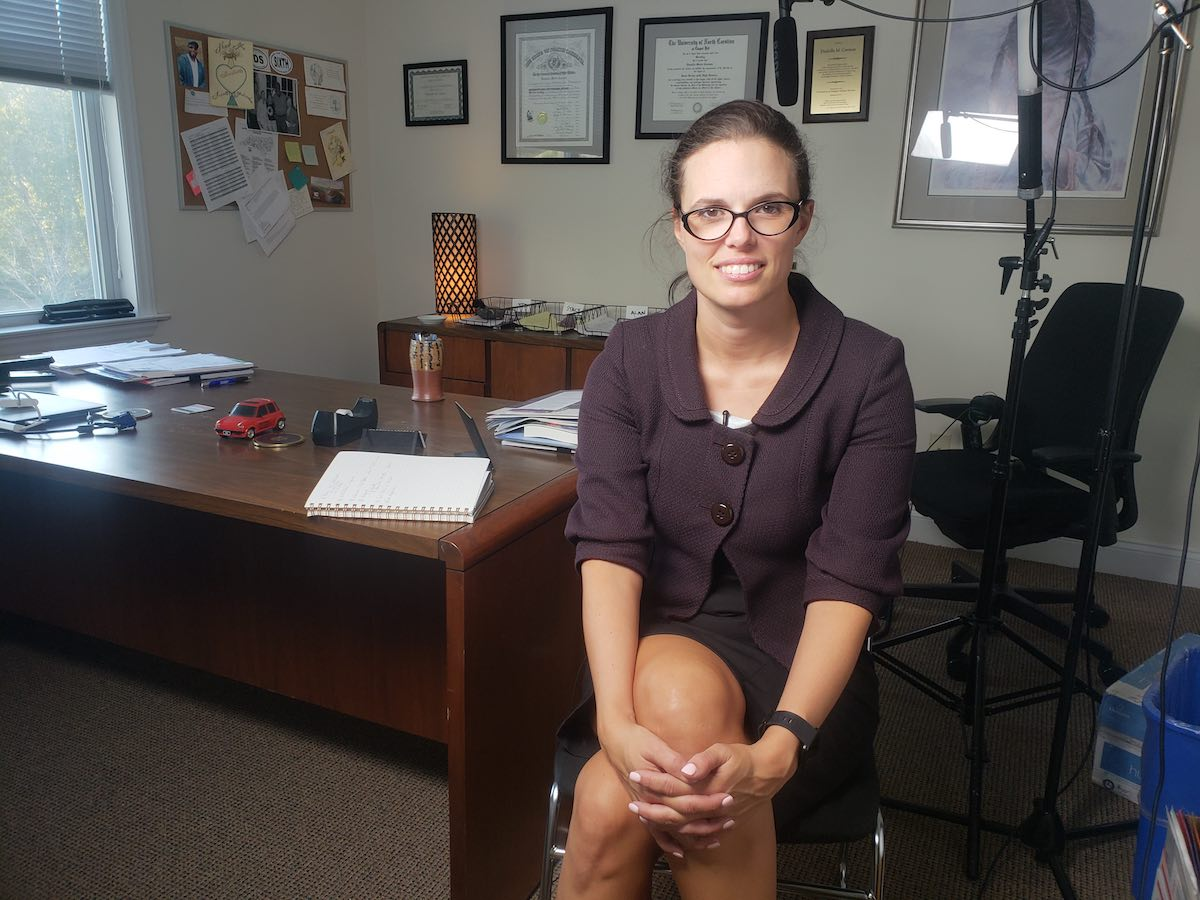 Allison Riggs is a senior staff attorney at the Southern Coalition for Social Justice. (Photo credit: Kamaya Truitt)