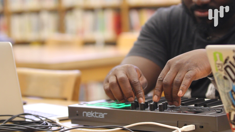 Making Beats in a Library Using Found Sounds Ep 3 Oakland Public Library