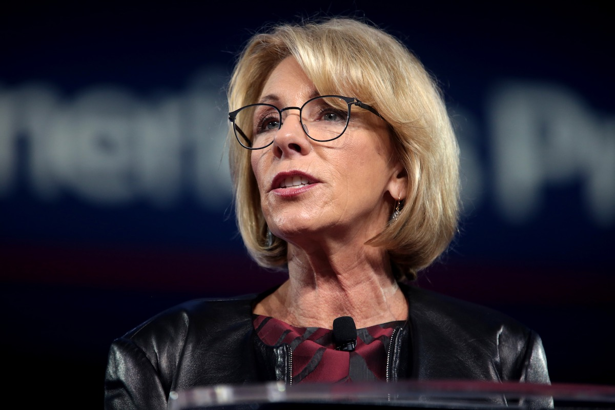 How Schools Deal with Sexual Assault: Betsy DeVos Plan Gets More Than 100,000 Comments