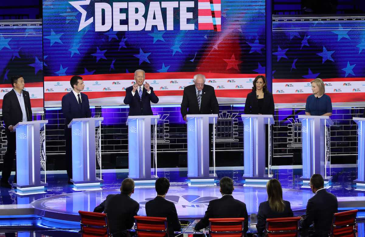 Democratic Candidates Compete on Criminal Justice Reform Plans