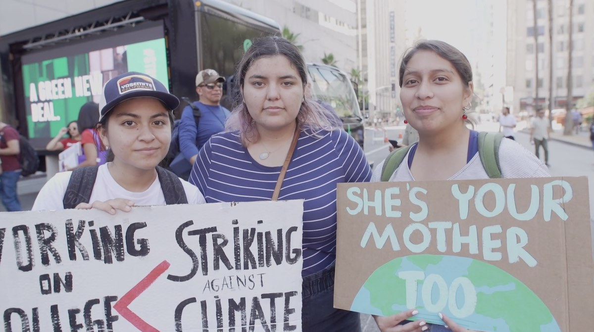 Video: Teens Are Afraid for Earth's Future