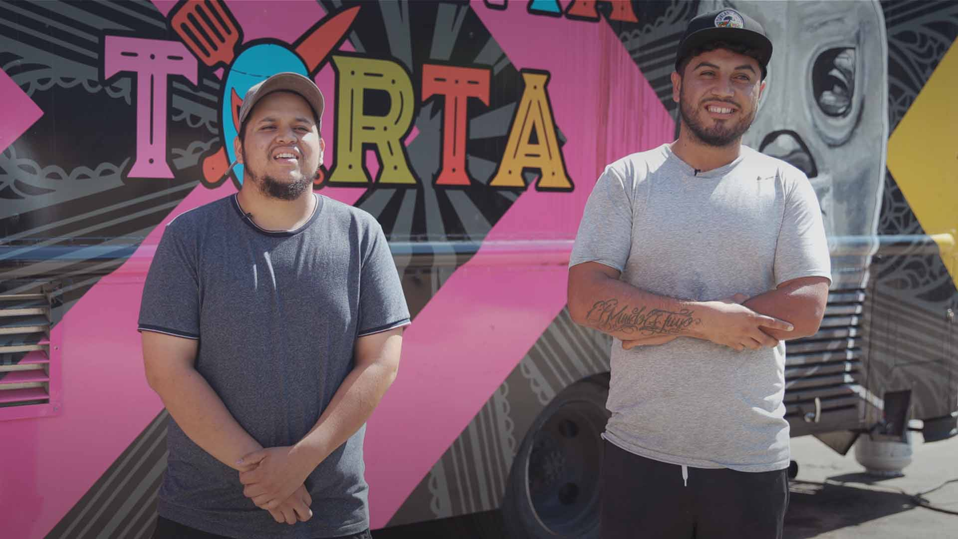 Dreamers Change the View of a Mexican Taco Truck