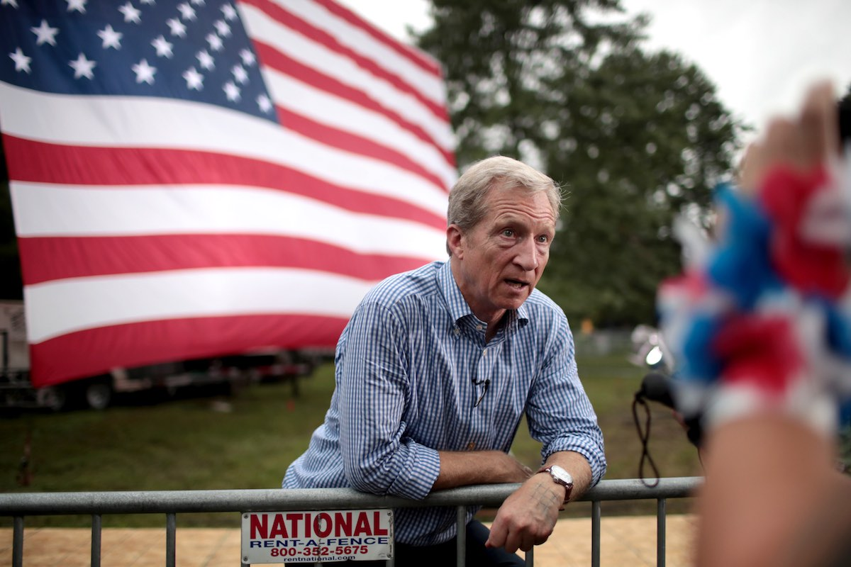 From Iowa: Q&A with Presidential Candidate Tom Steyer