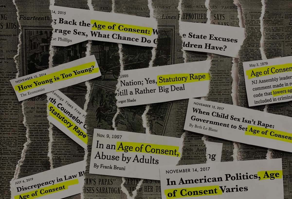 Illegal or Just Creepy? The Complicated History of Age of Consent
