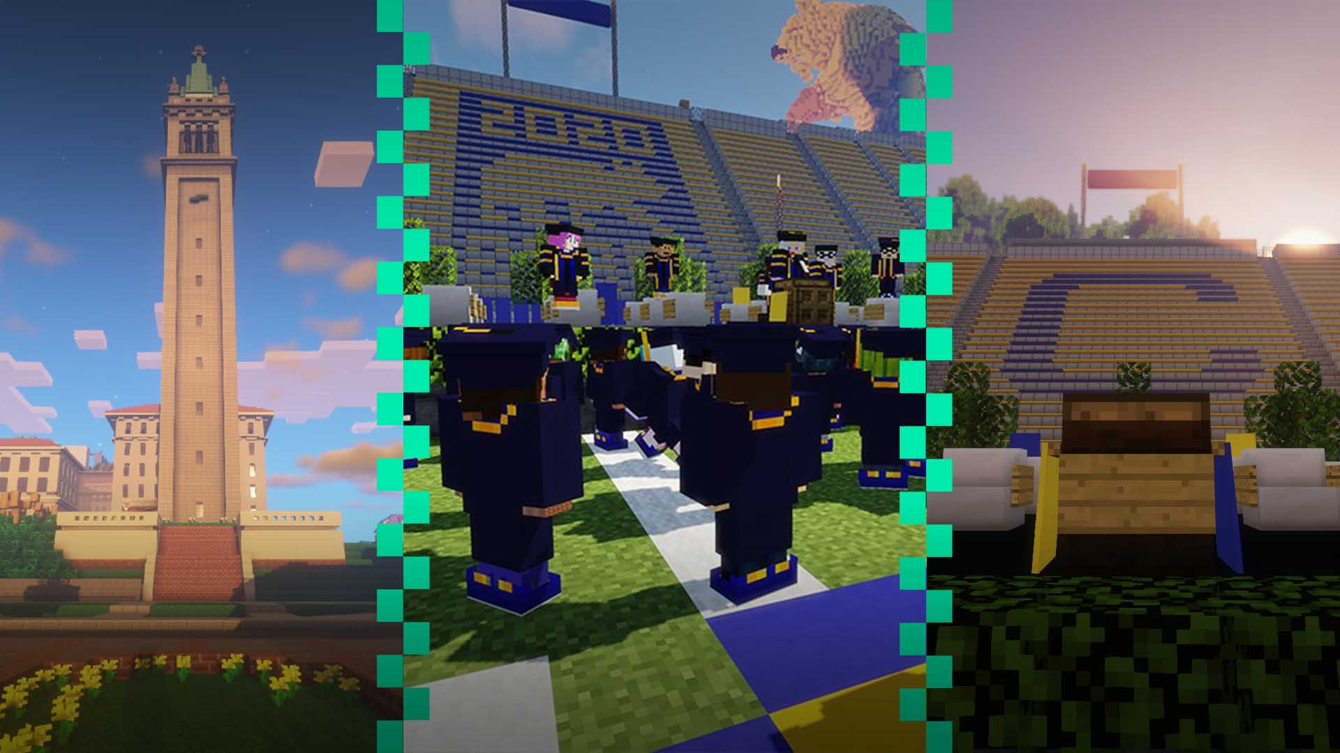 From Berkeley to Blockeley: Students Build Virtual Campus for Graduation