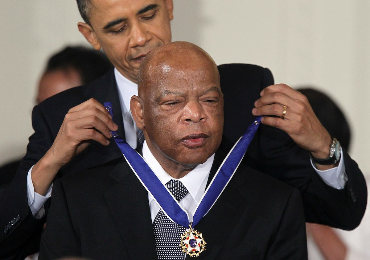 Obama Honors Civil Rights Leader John Lewis