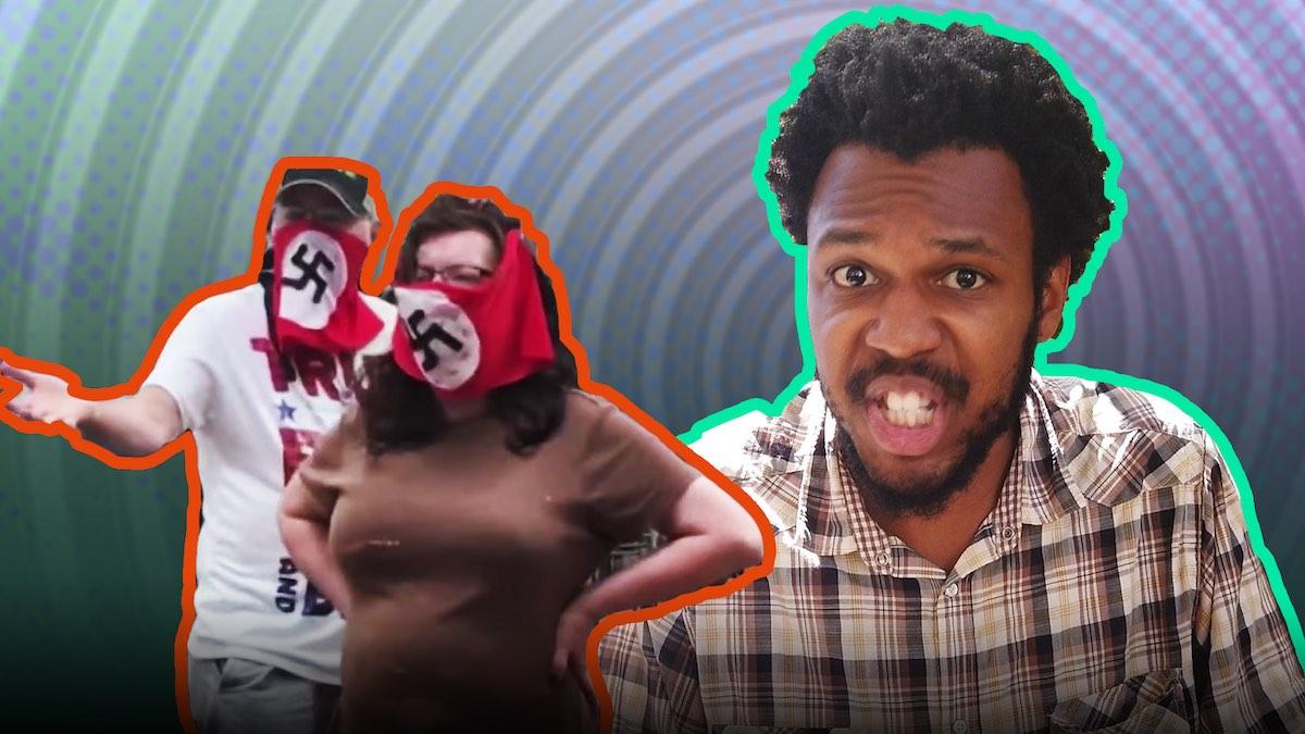 Mask Mandate Brings Out Nazi-Mask Karens