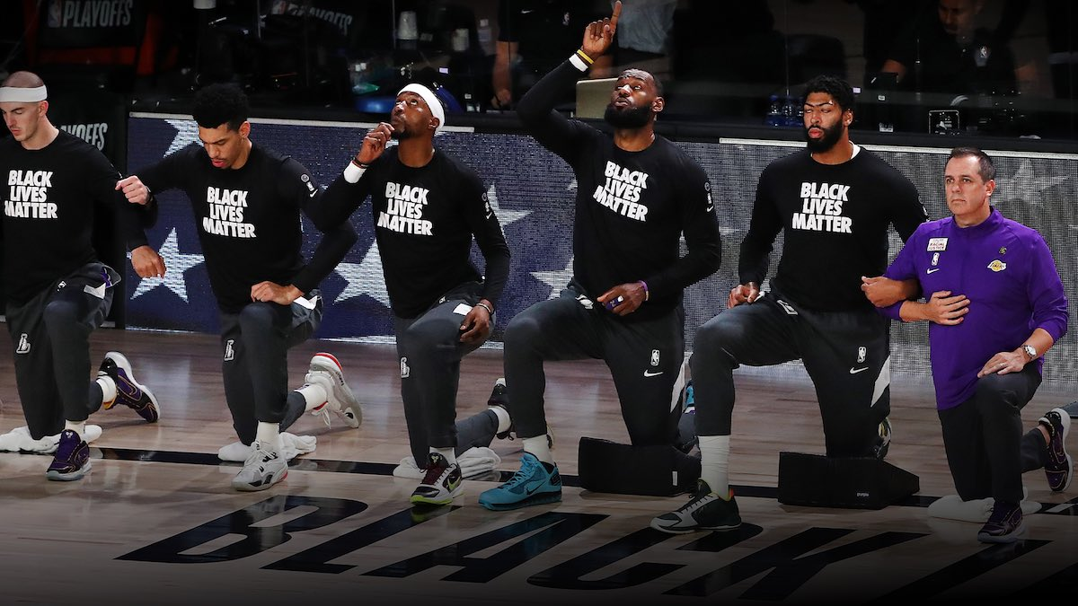 Athletes Take a Stand