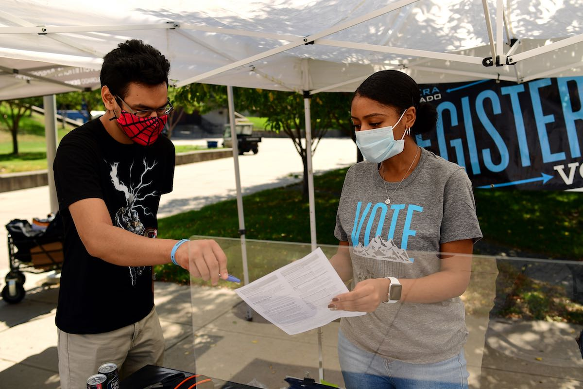 Voting in College: Students Get Creative to Rally Young Voters to the Polls