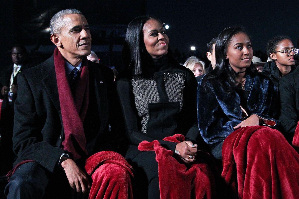 Barack Obama: Sasha Is a 'Mini Michelle'