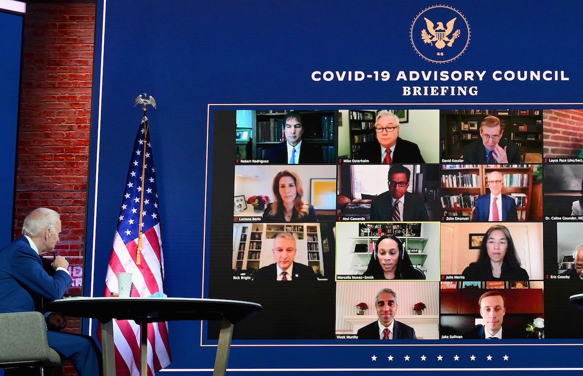 Biden Names COVID-19 Advisory Board