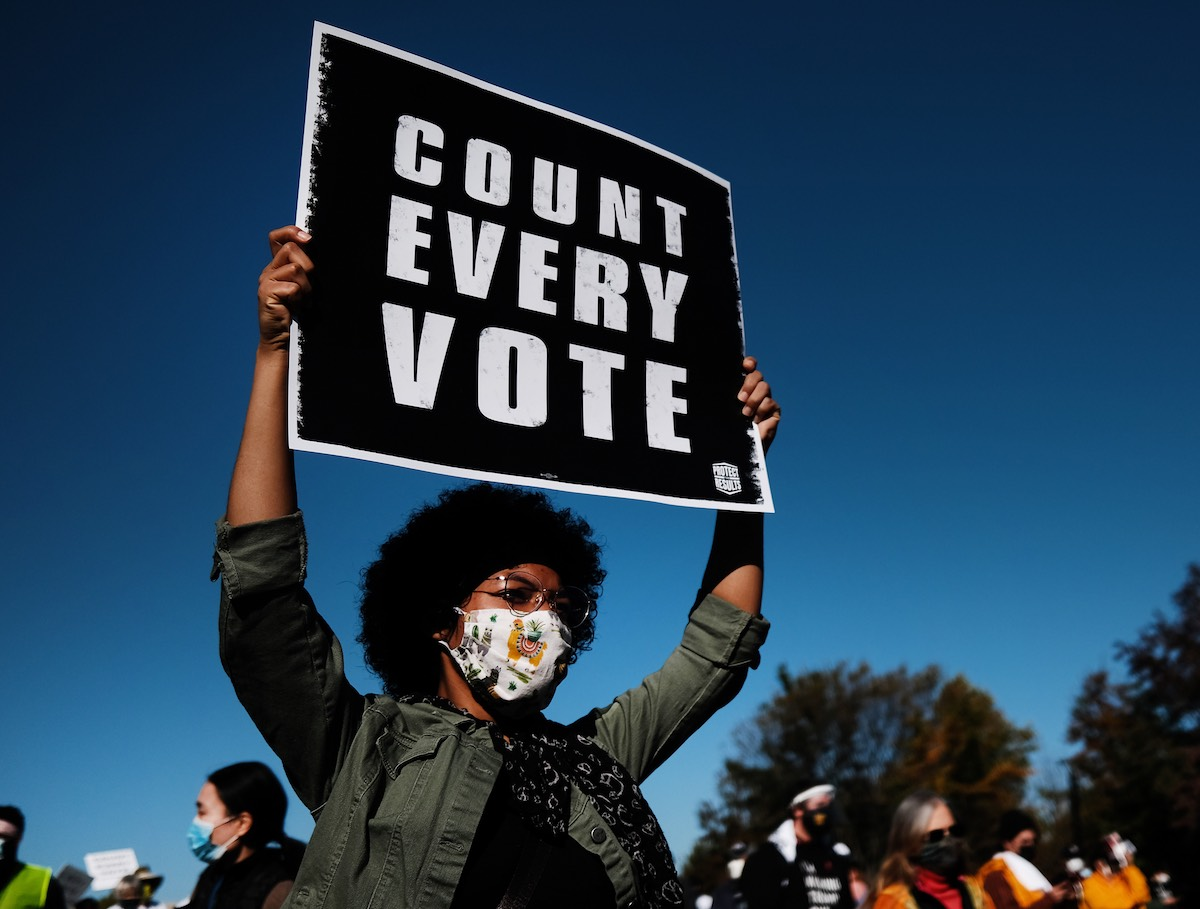Youth Voter Turnout Shuts Down a Tired Narrative