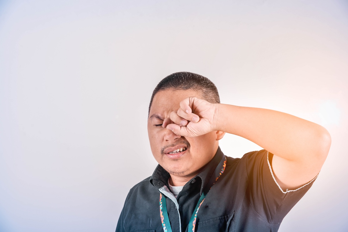 Eye Irritation Tied to Initial Signs of COVID-19