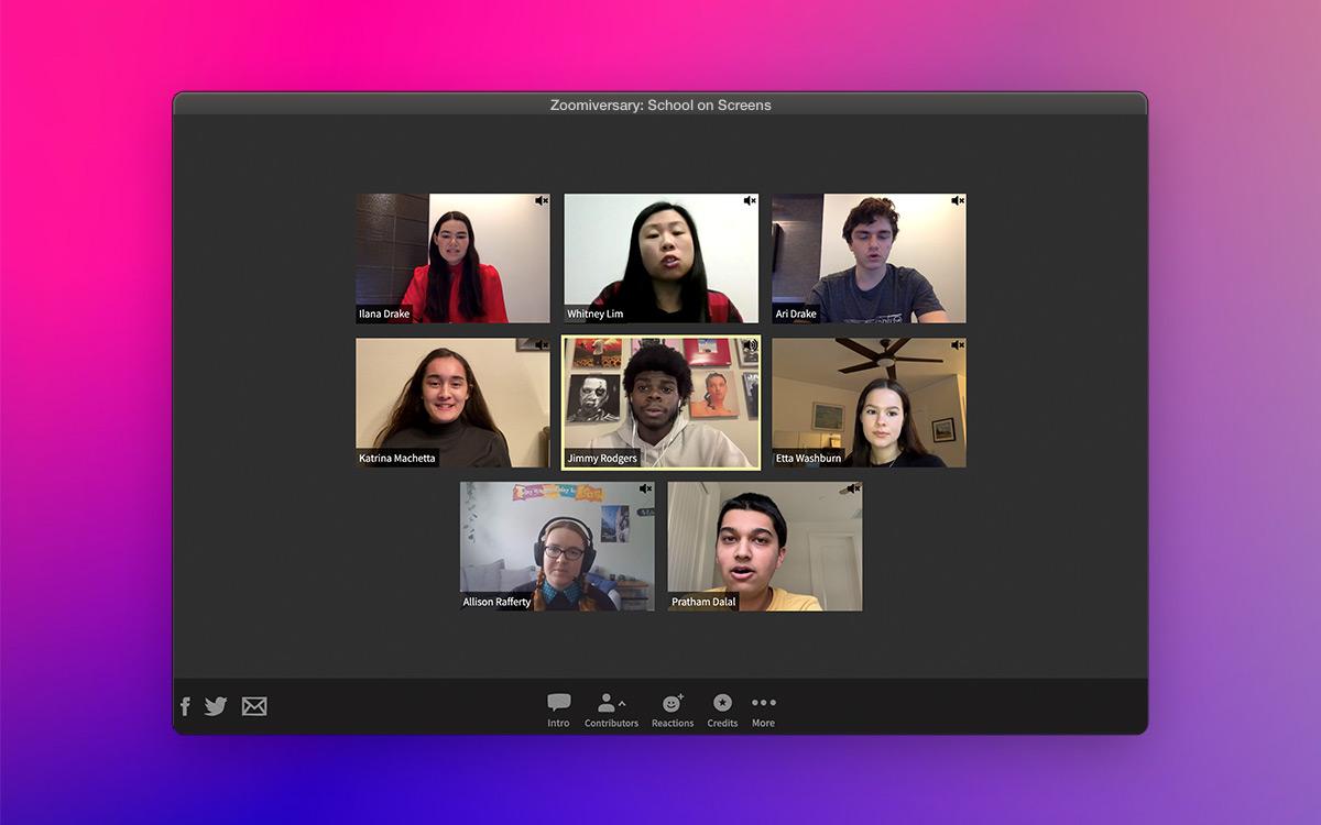 Zoomiversary: School on Screens