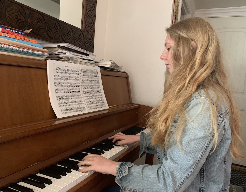 Can't Find the Right Notes: Playing Piano in a Pandemic