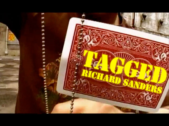 Tagged by Richard Sanders DVD + Gimmick