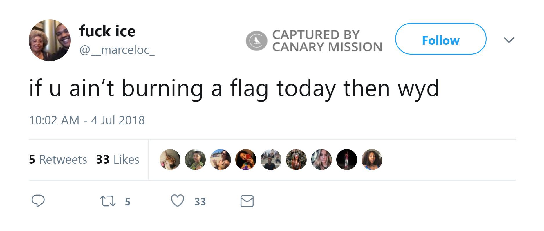 UCLA - Canary Mission