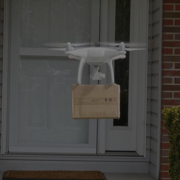 THE FUTURE OF DELIVERIES IS FAST
