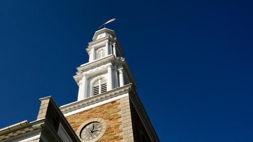 Chapel Steeple Undergoes Renovation