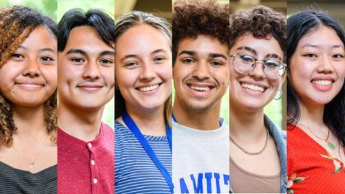 Bayley Dickinson, Delbert Gonzales, Alexandra Kropaneva, Ryley McGovern, Lillyana Sanchez, and Lindsay Son