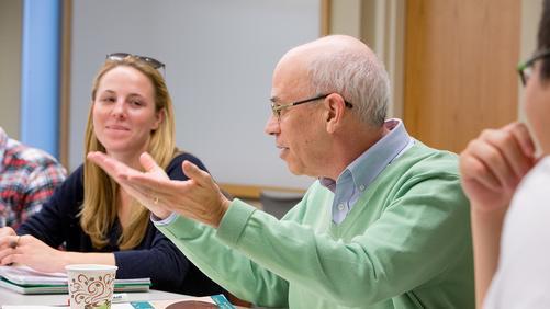 Professor Chambliss in class