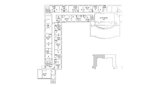 Dunham Floor 1 South