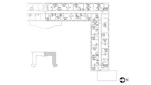 Dunham Floor 2 North