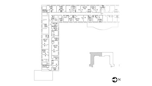 Dunham Floor 2 South