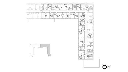 Dunham Floor 3 North