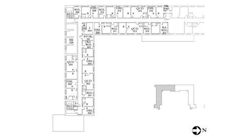 Dunham Floor 3 South