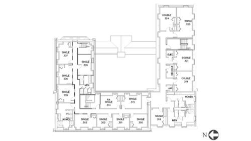 Eells, Floor 3