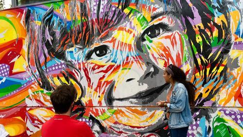 Visite Graffitis Paris 7