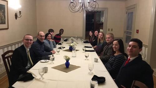 Rogers estate dinner