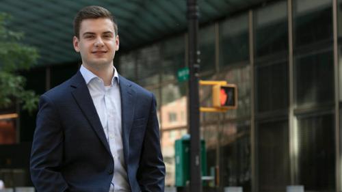James Argo '22 goldman sachs intern