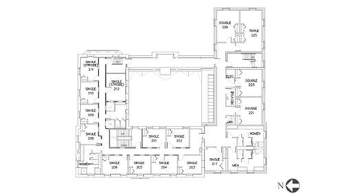 Eells, Floor 2