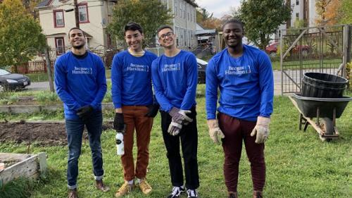 Linwood Garden Volunteers - Oct. 2019