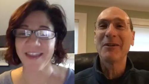 Terry Martinez and David Wippman Zoom session
