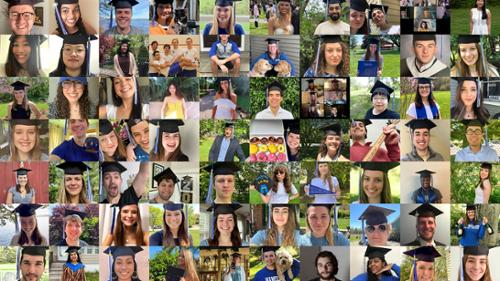 Commencement-2020 Mortarboards