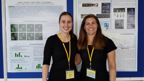 Natalie Nannas-JodiWeiss '19-MaizeGeneticsConference-Spring 2018