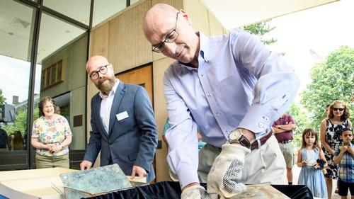 A Glimpse into the Past: 1890 Time Capsule Opened