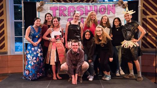 Trashion show