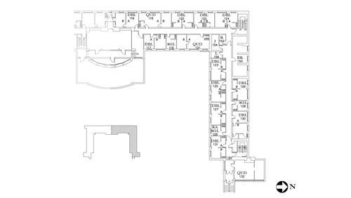 Dunham Floor 1 North