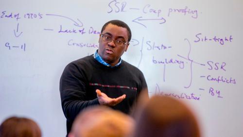 Professor Omobolaji Olarinmoye lectures on stuff