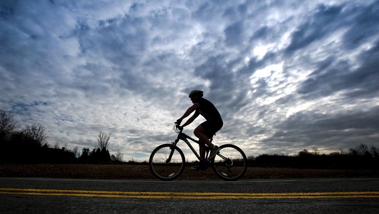 Hamtrek biker