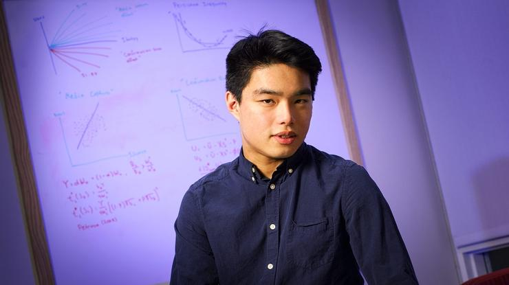 Andrew Wei '20.
