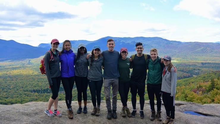The Phelps Mountain climbers.