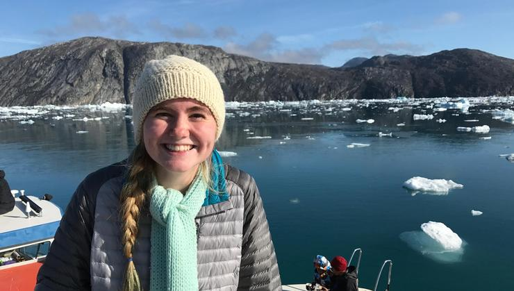 Alexei Smith '19 on her study abroad program in Iceland.
