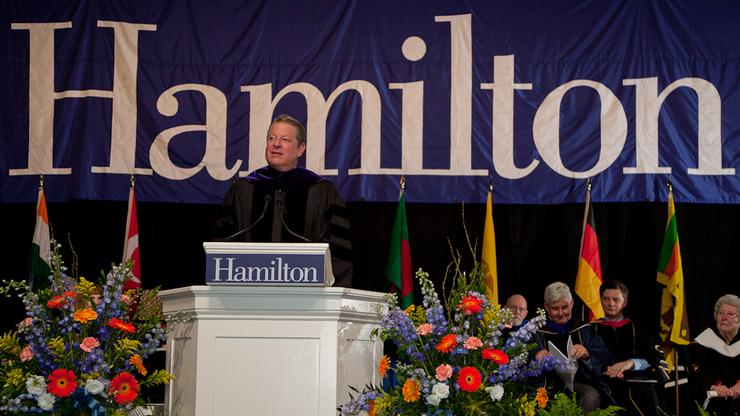 Class of 2011 Commencement Speaker, Al Gore