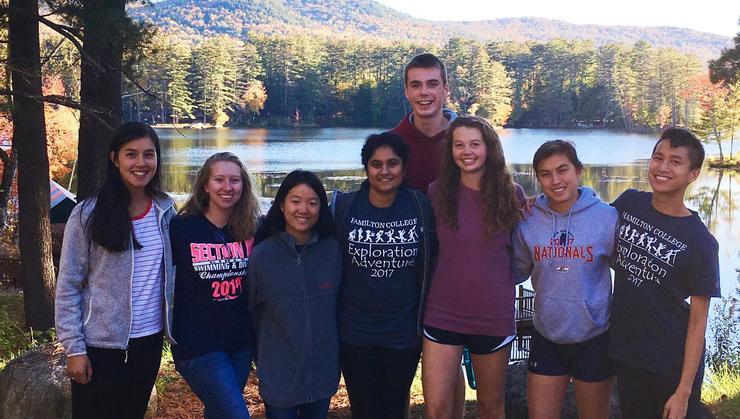 From left: Virginia Loke, BellaDonna Sins, Jiin Jeong, Safa Ahmed, Jack Scacco, Elisa Taylor, Jaden Liu, and Matthew Tom.